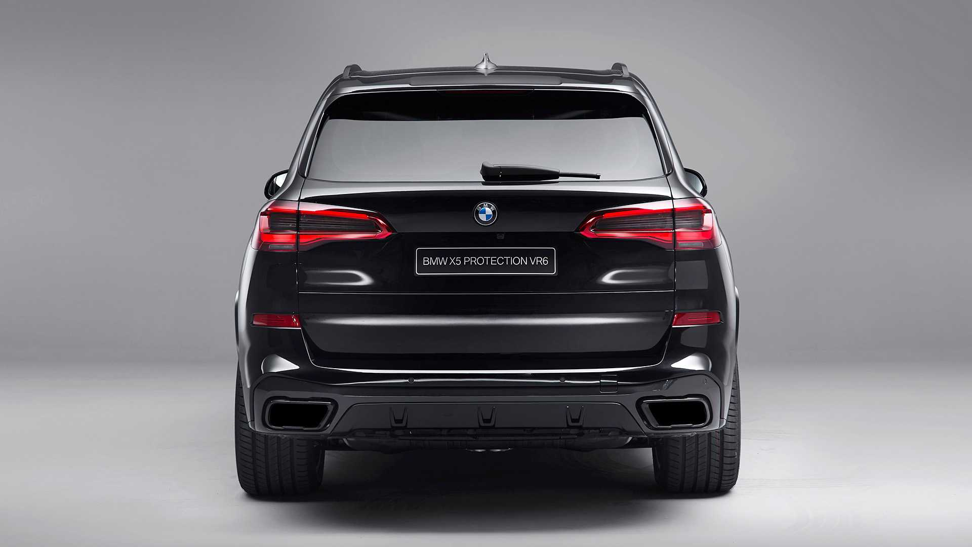 2020 BMW X5 Protection VR6 (Armored Vehicle) Rear Wallpapers (4)