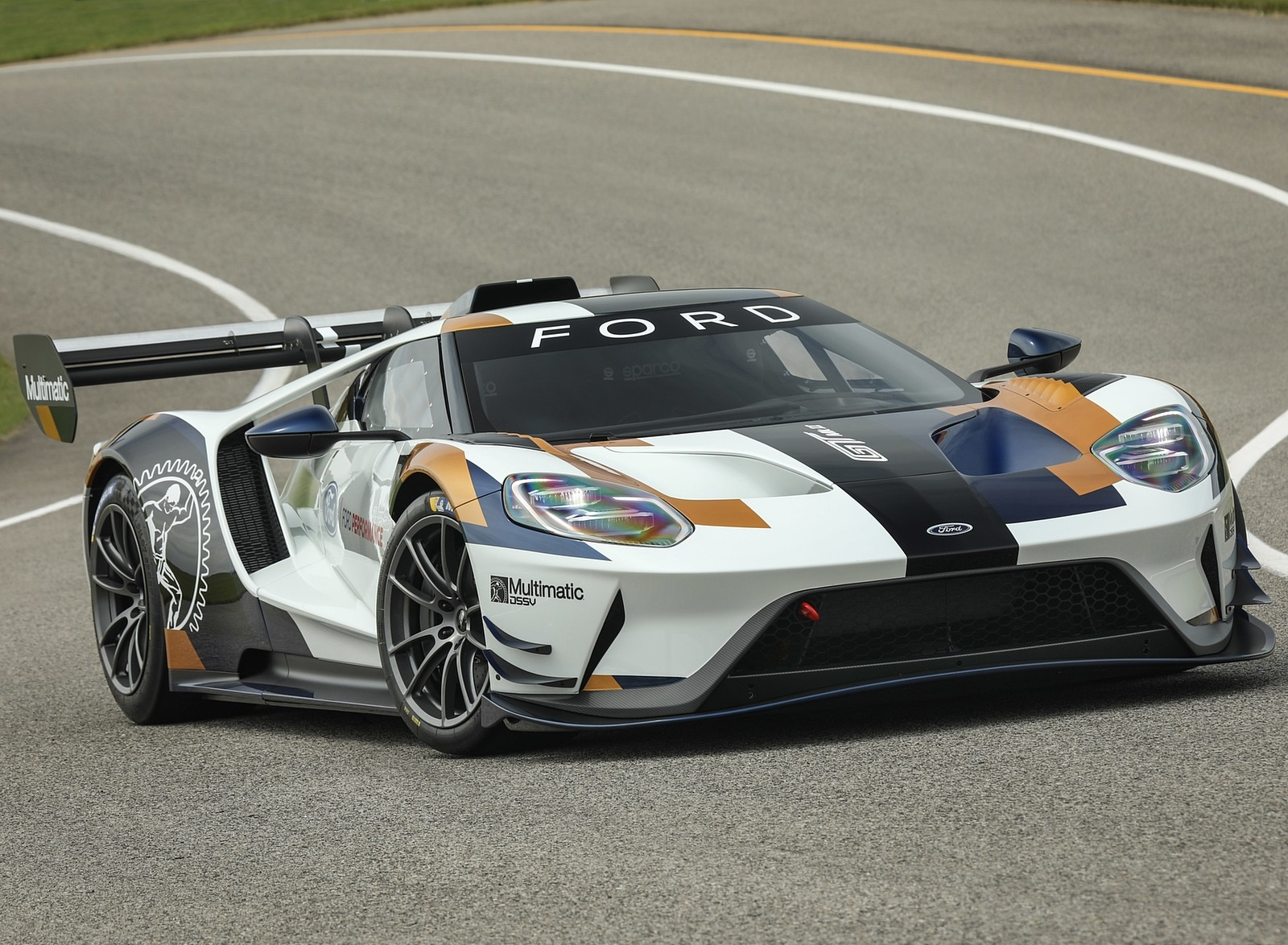 2020 Ford GT Mk II Front Three-Quarter Wallpapers (1)