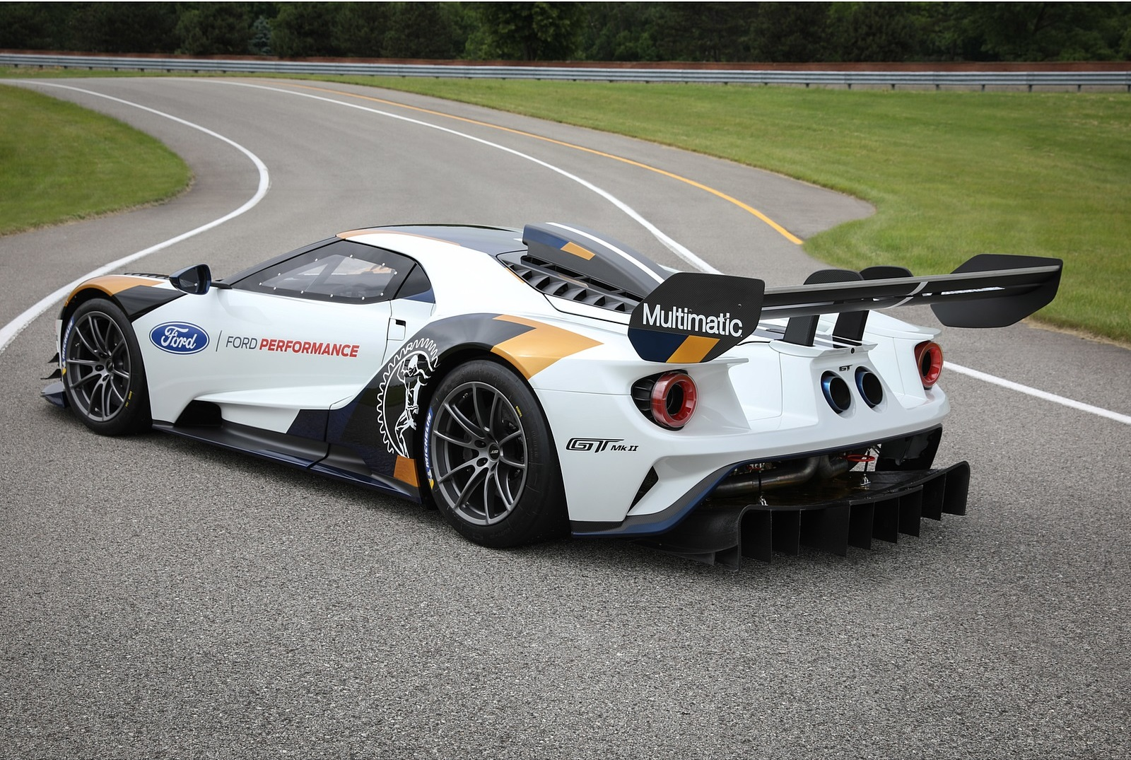 2020 Ford GT Mk II Rear Three-Quarter Wallpapers (2)