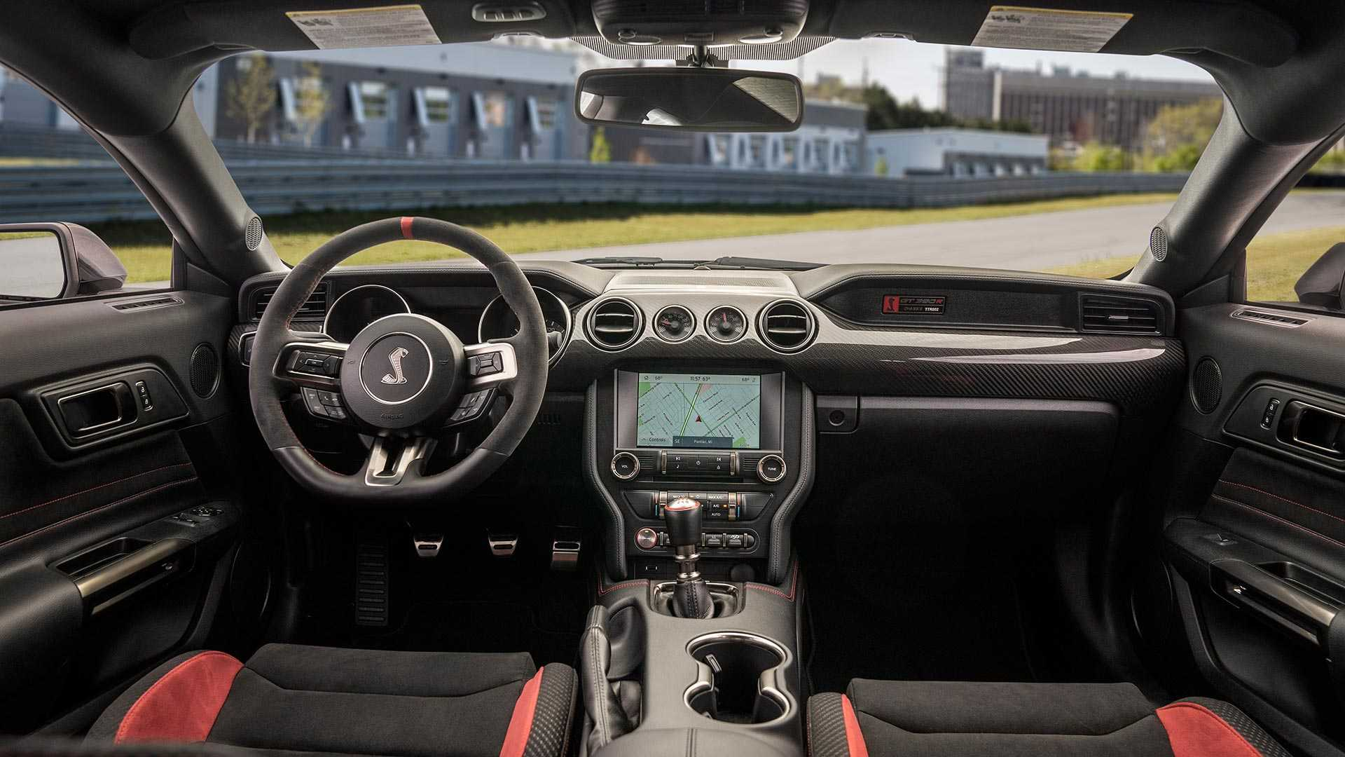 2020 Ford Mustang Shelby GT350R Interior Cockpit Wallpapers (8)