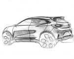 2020 Ford Puma Design Sketch Wallpapers 150x120 (42)