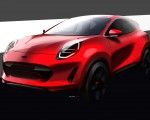 2020 Ford Puma Design Sketch Wallpapers 150x120 (41)