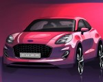 2020 Ford Puma Design Sketch Wallpapers 150x120 (40)