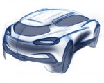 2020 Ford Puma Design Sketch Wallpapers 150x120 (46)