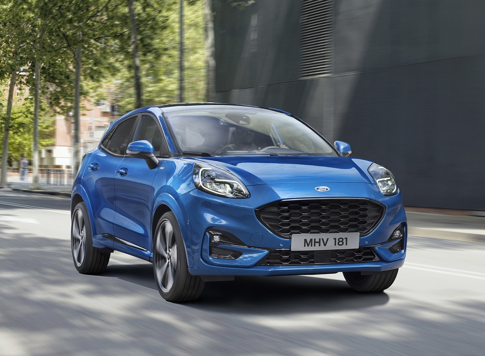 2020 Ford Puma Front Three-Quarter Wallpapers (1)