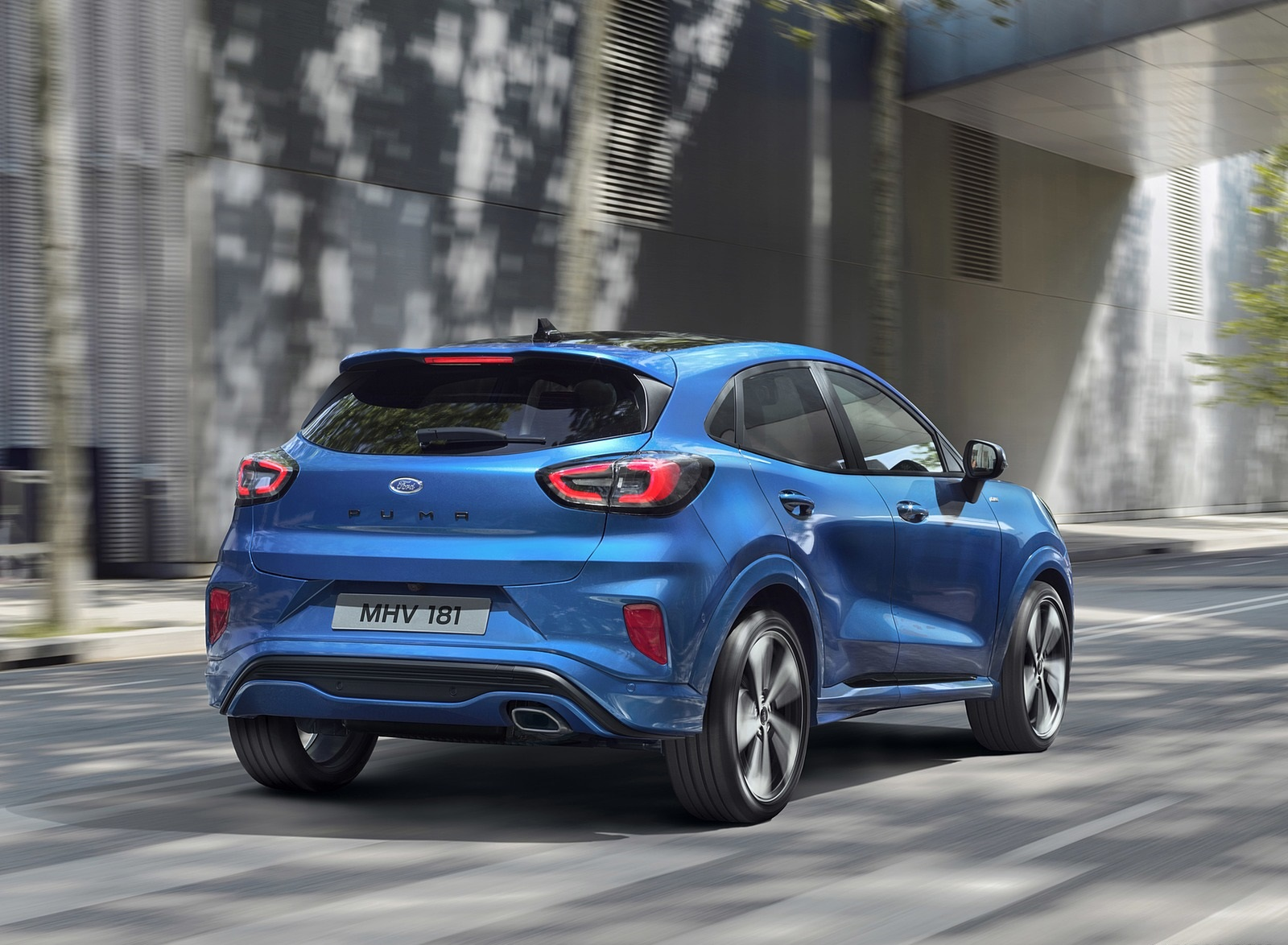 2020 Ford Puma Rear Three-Quarter Wallpapers (3)