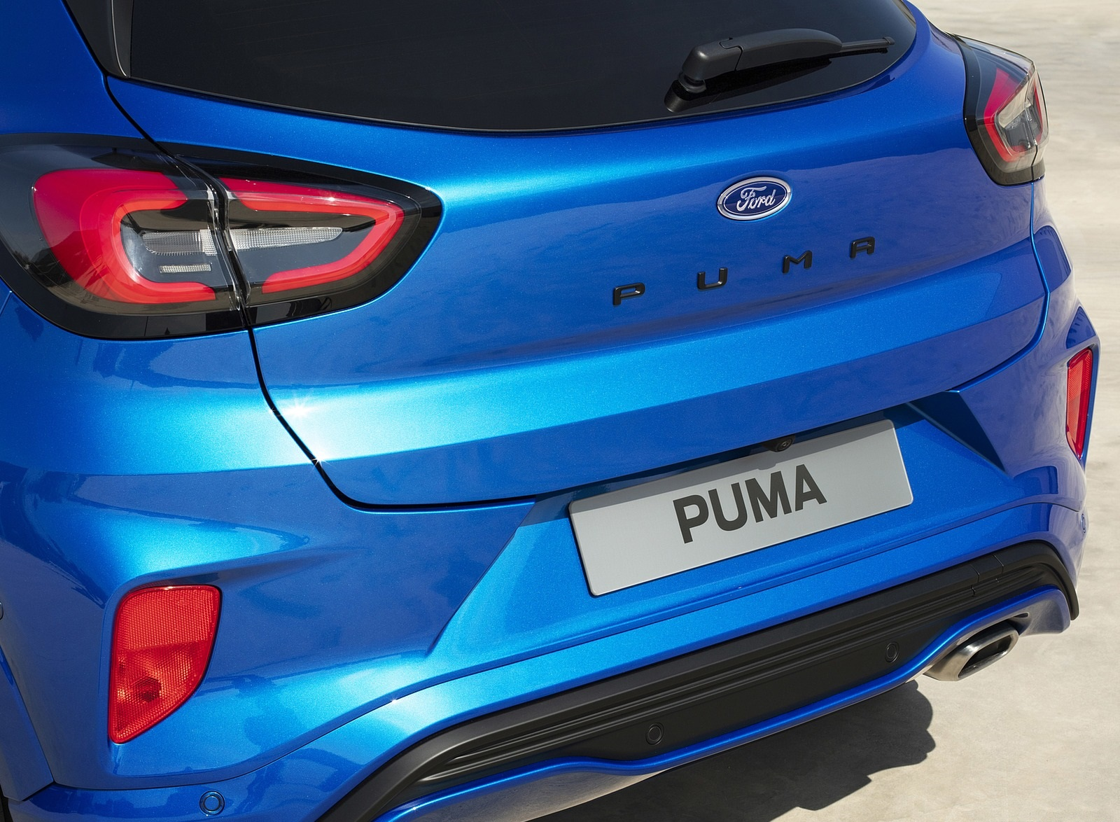 2020 Ford Puma Tail Light Wallpapers (13)