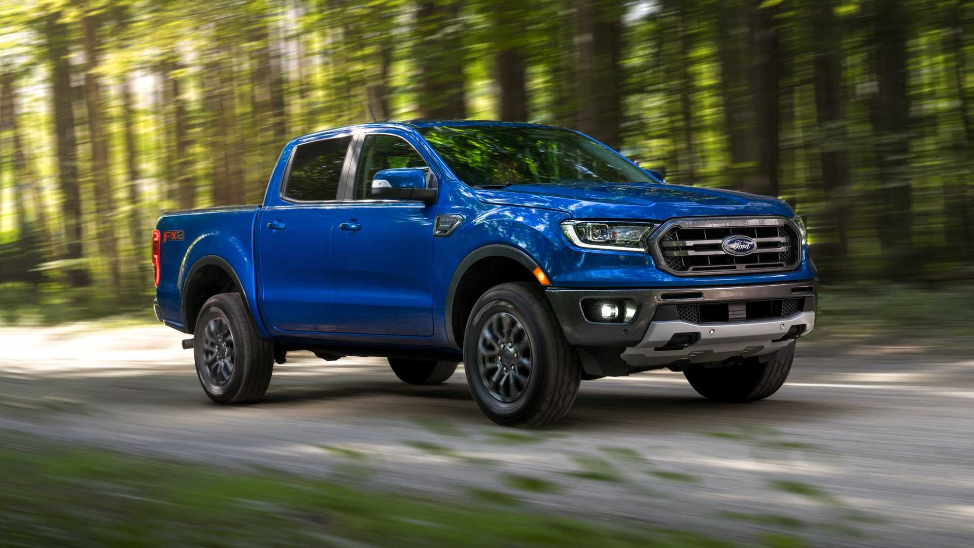 2020 Ford Ranger with FX2 Package Front Three-Quarter Wallpapers (1)
