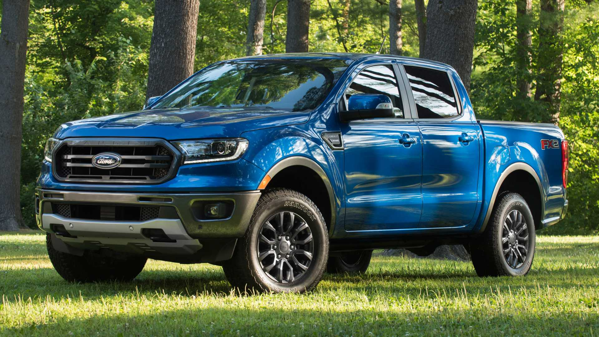 2020 Ford Ranger with FX2 Package Front Three-Quarter Wallpapers (4)