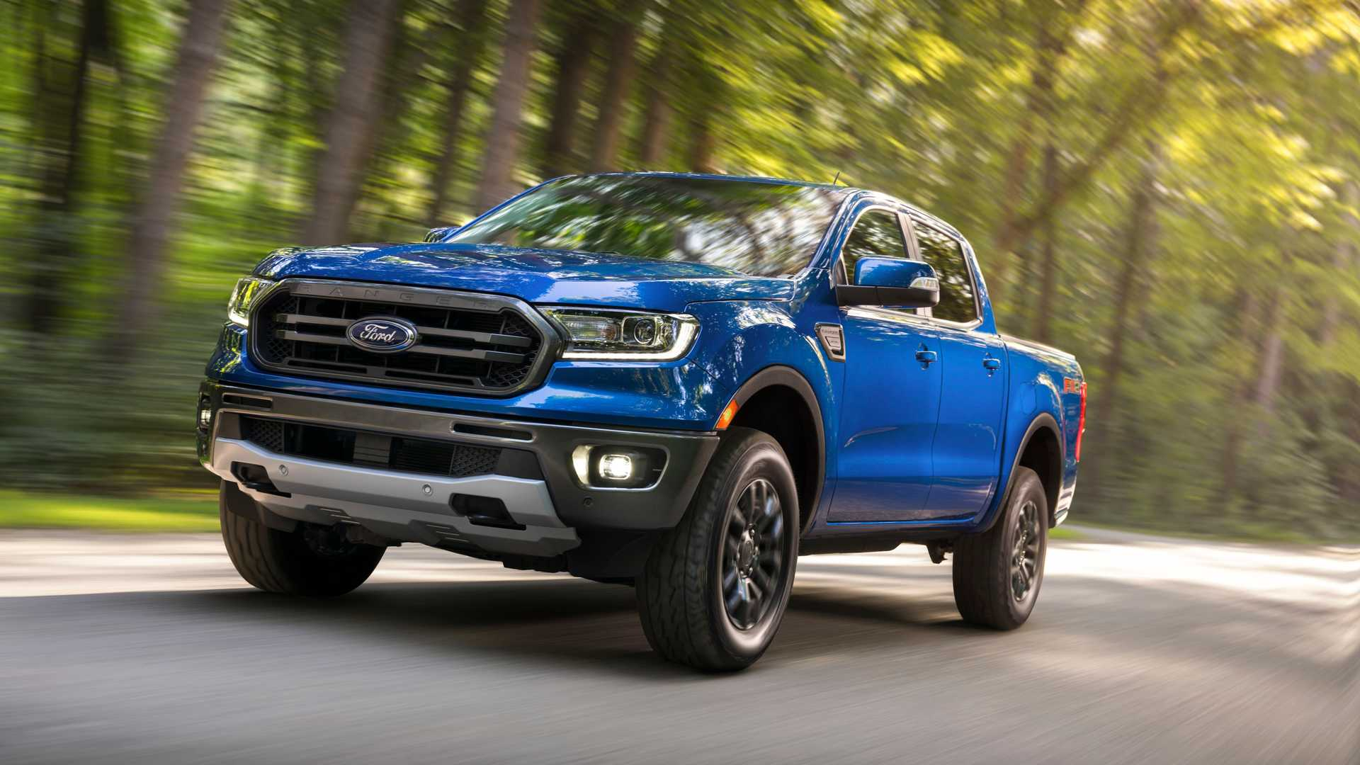 2020 Ford Ranger with FX2 Package Front Three-Quarter Wallpapers (2)