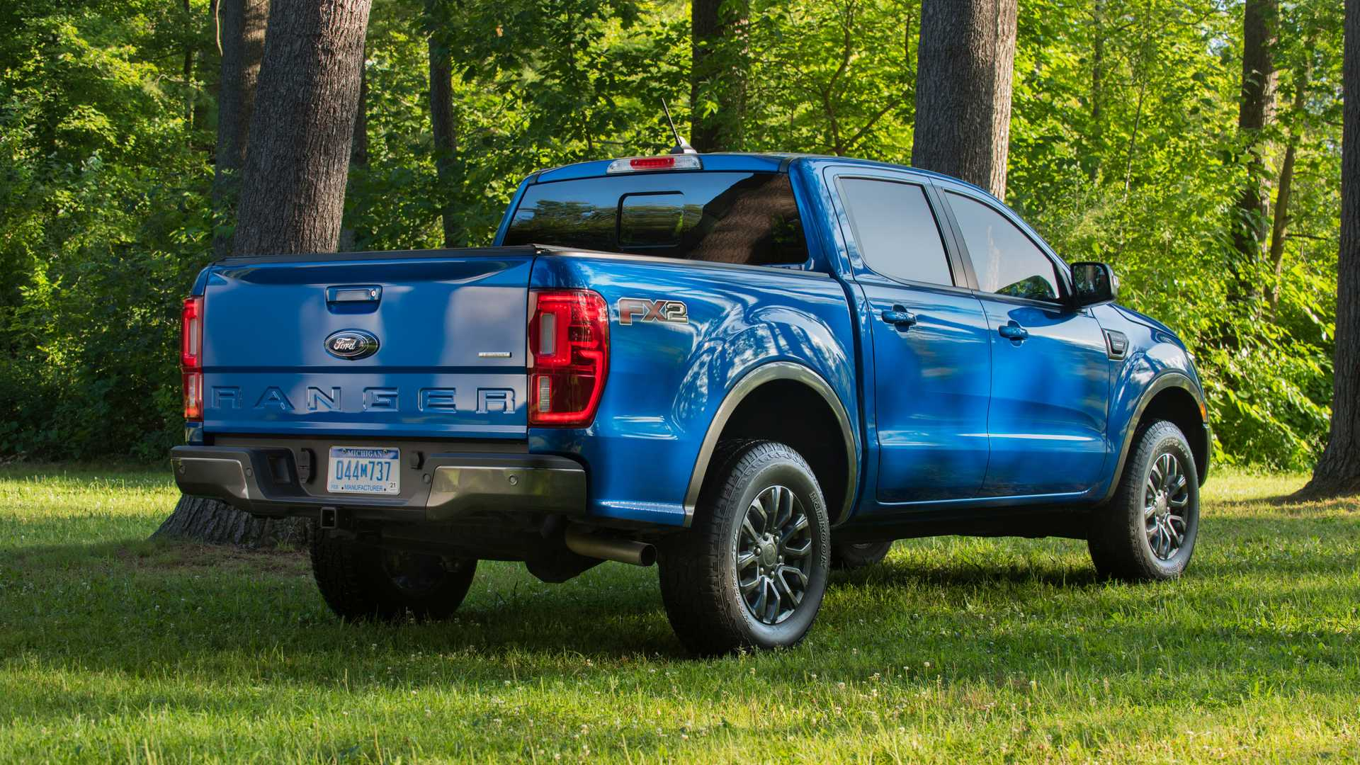 2020 Ford Ranger with FX2 Package Rear Three-Quarter Wallpapers (7)