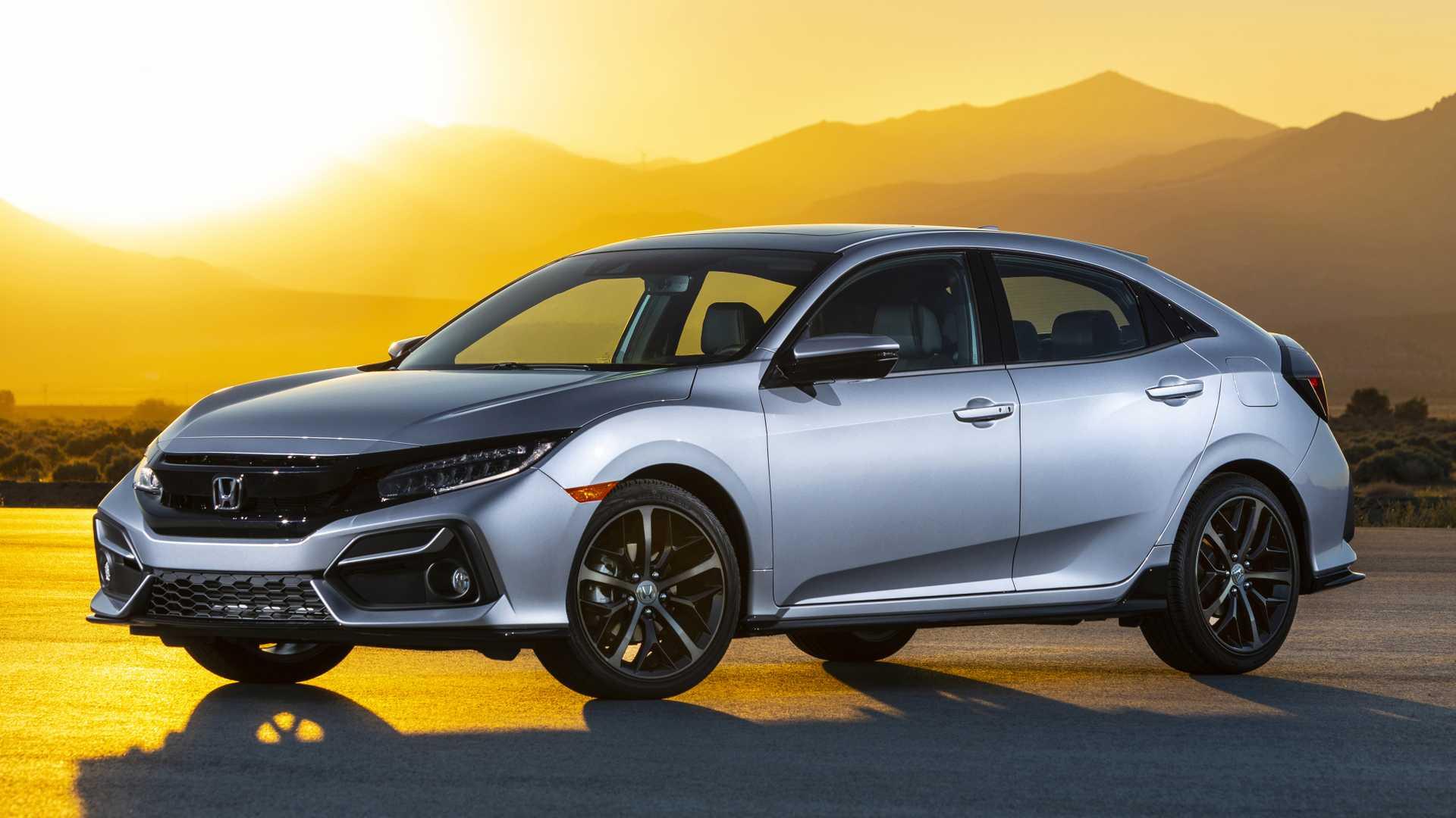 2020 Honda Civic Hatchback Front Three-Quarter Wallpapers (2)