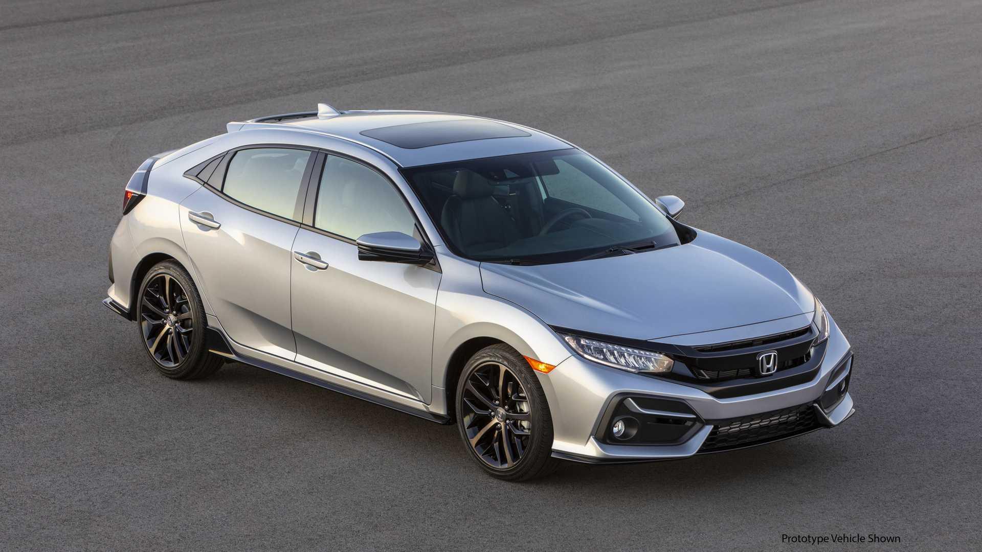 2020 Honda Civic Hatchback Front Three-Quarter Wallpapers (3)