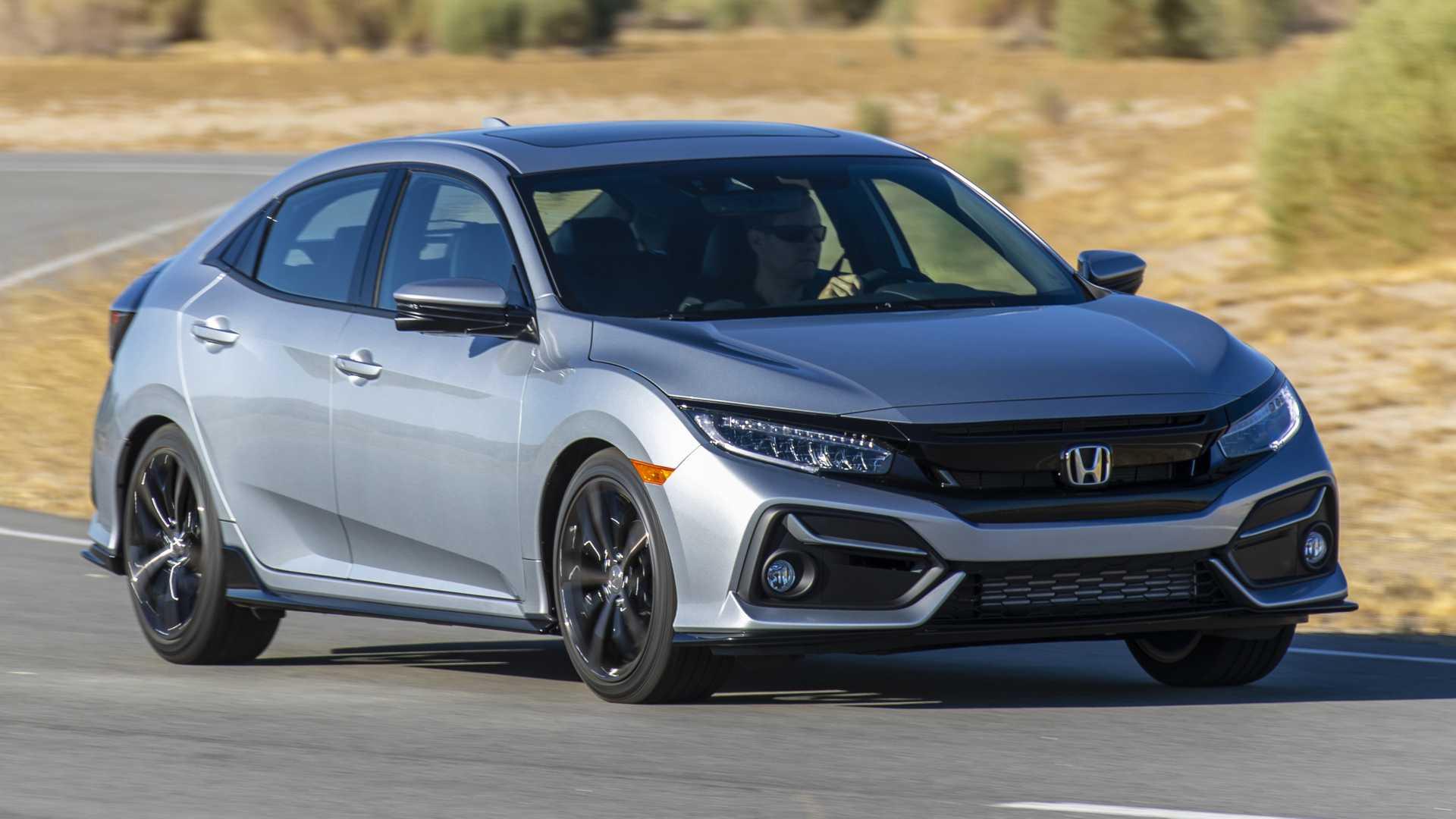 2020 Honda Civic Hatchback Front Three-Quarter Wallpapers (1)