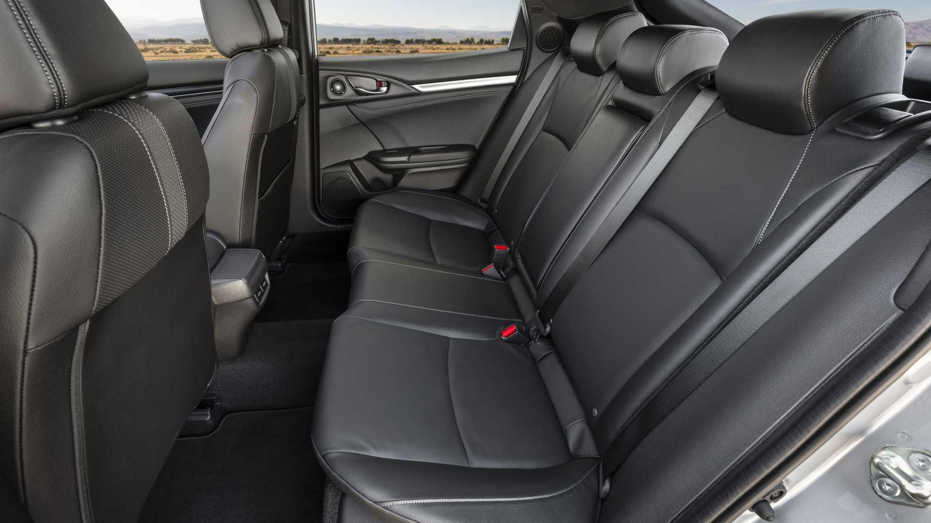 2020 Honda Civic Hatchback Interior Rear Seats Wallpapers (7)