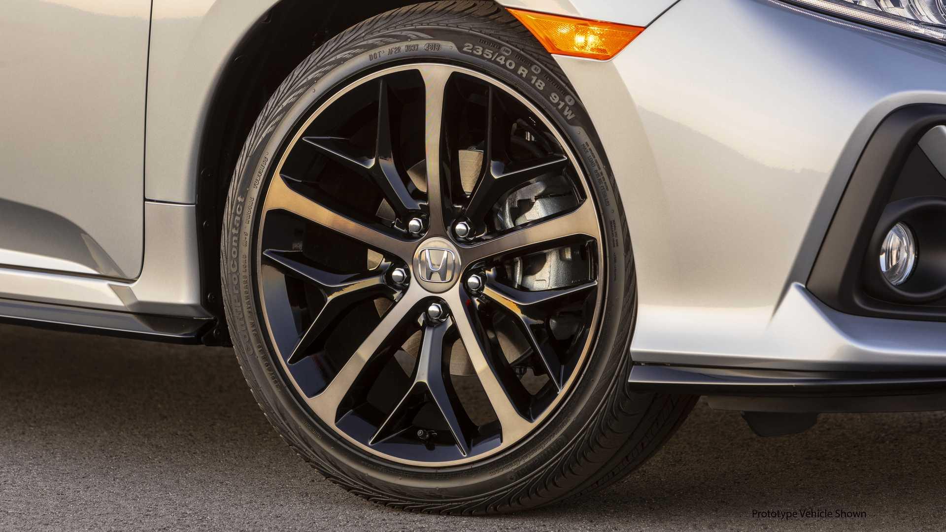 2020 Honda Civic Hatchback Wheel Wallpapers (5)