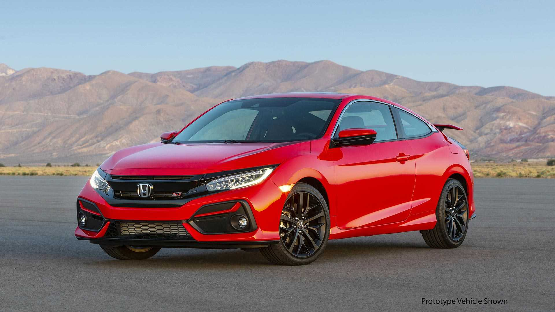 2020 Honda Civic Si Coupe Front Three-Quarter Wallpapers (4)
