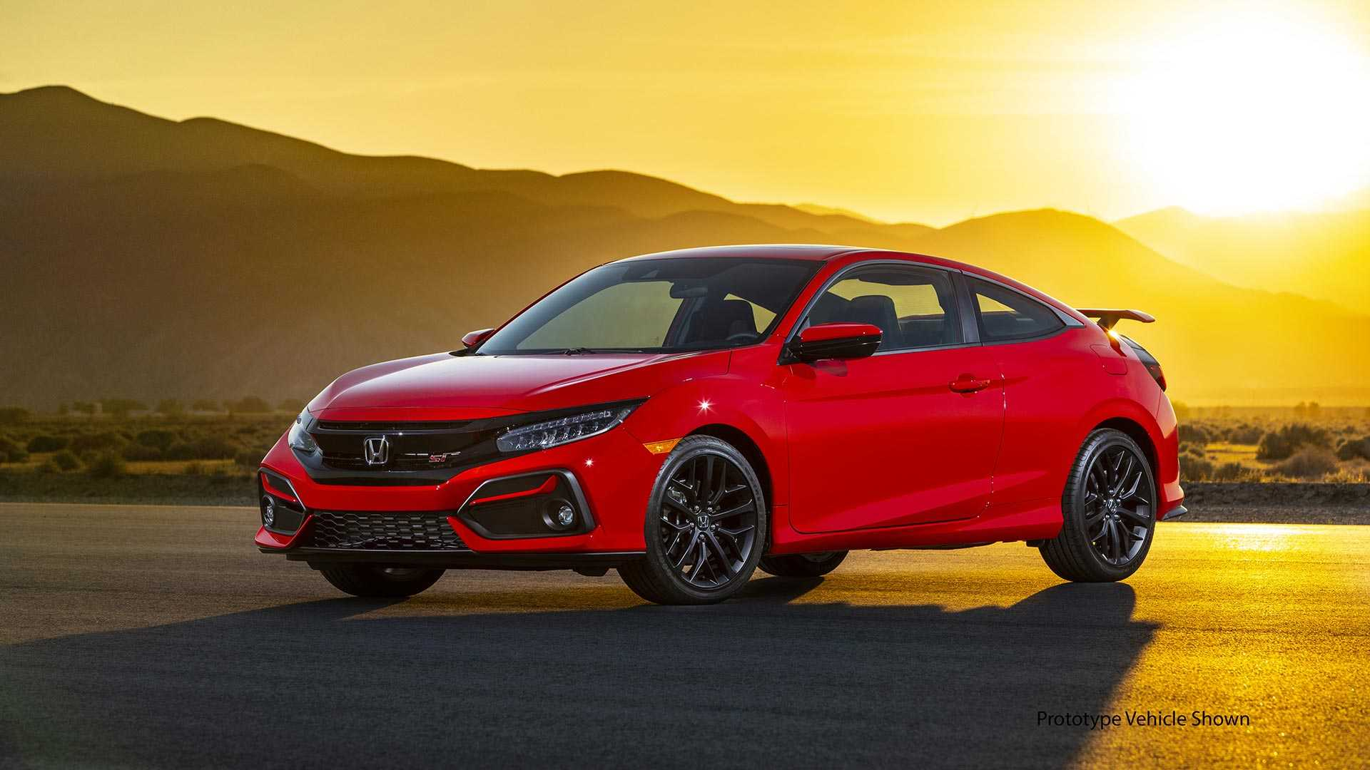 2020 Honda Civic Si Coupe Front Three-Quarter Wallpapers (5)