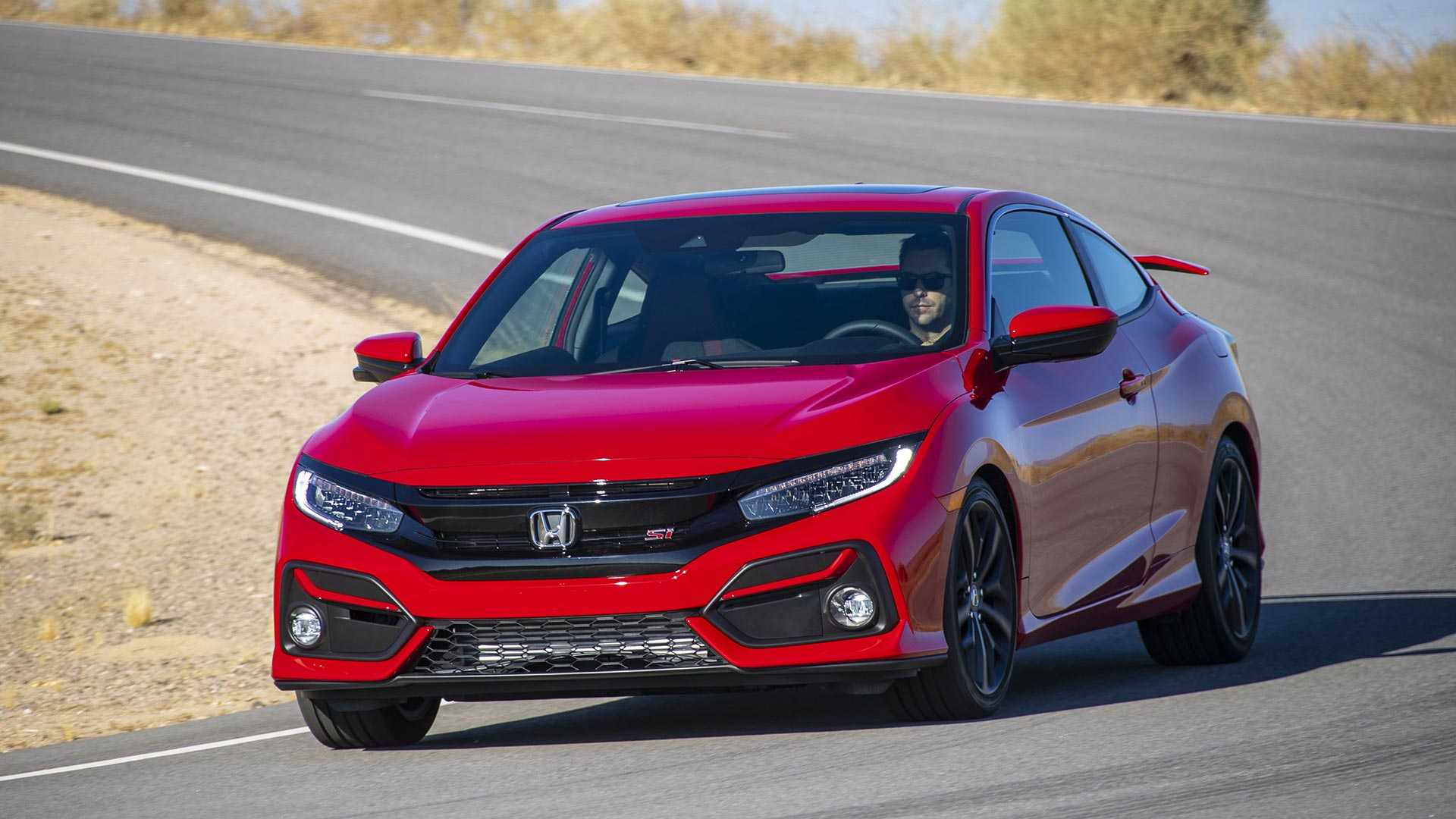2020 Honda Civic Si Coupe Front Wallpapers (1)