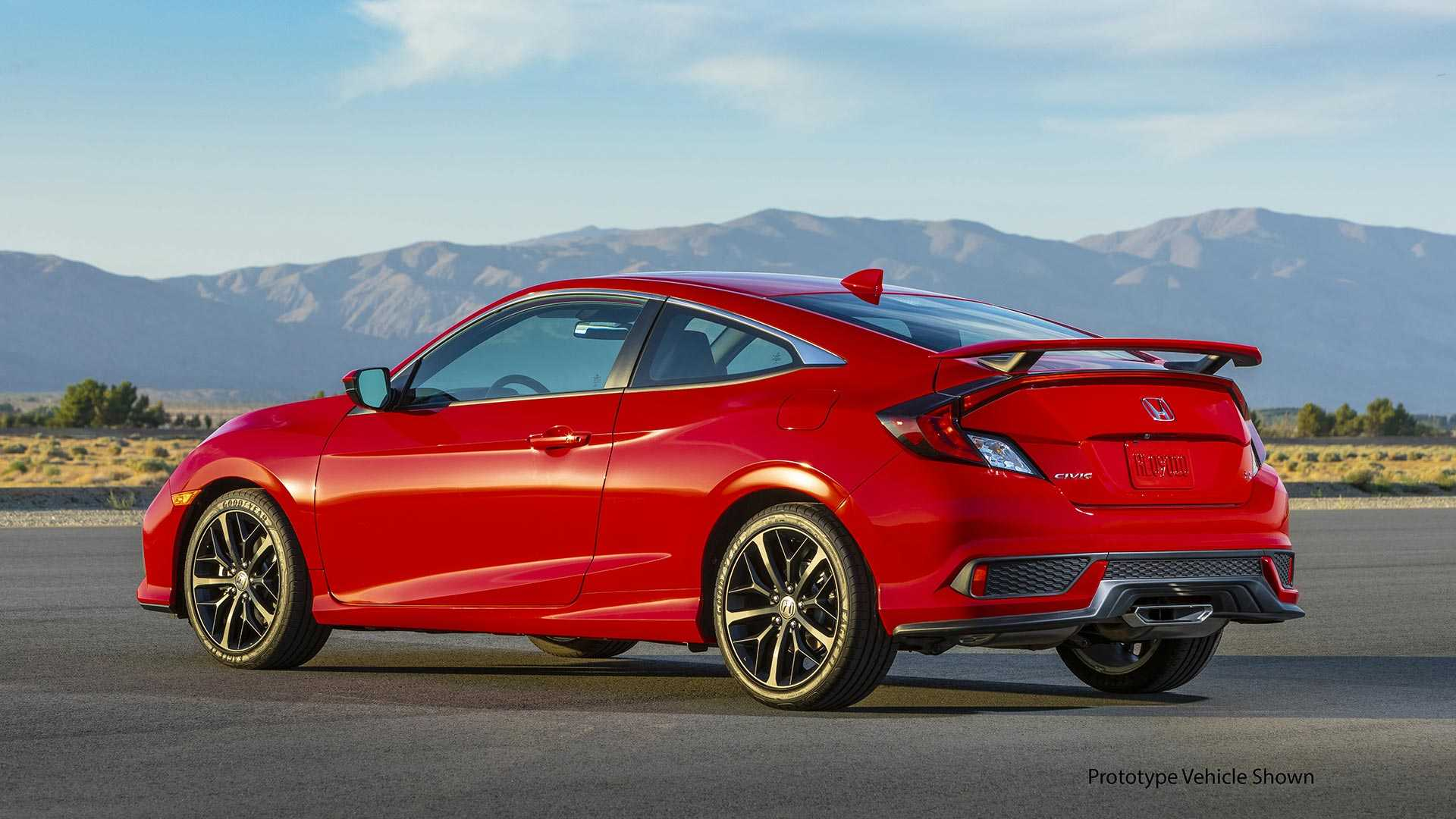 2020 Honda Civic Si Coupe Rear Three-Quarter Wallpapers (6)