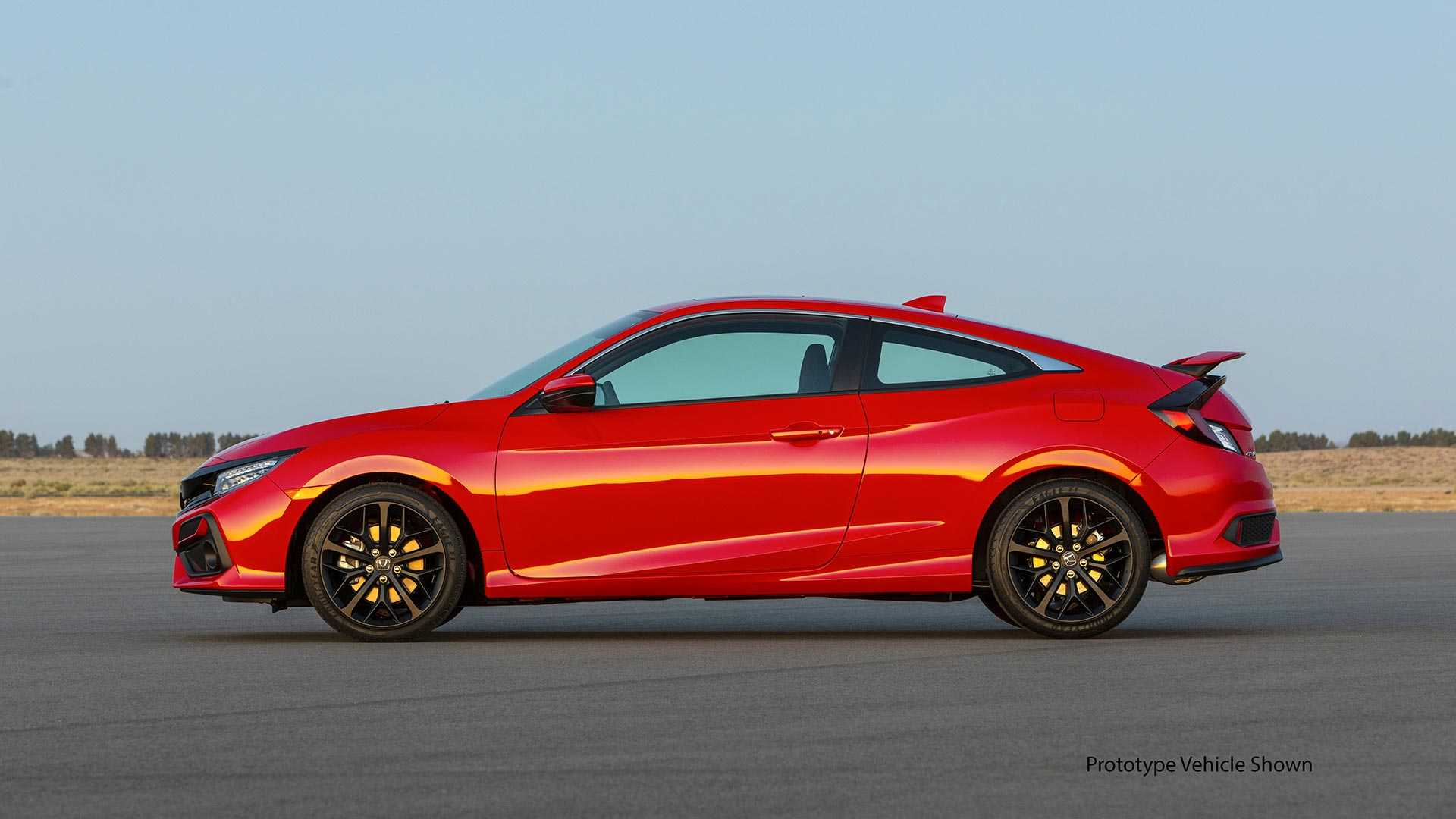2020 Honda Civic Si Coupe Side Wallpapers (8)