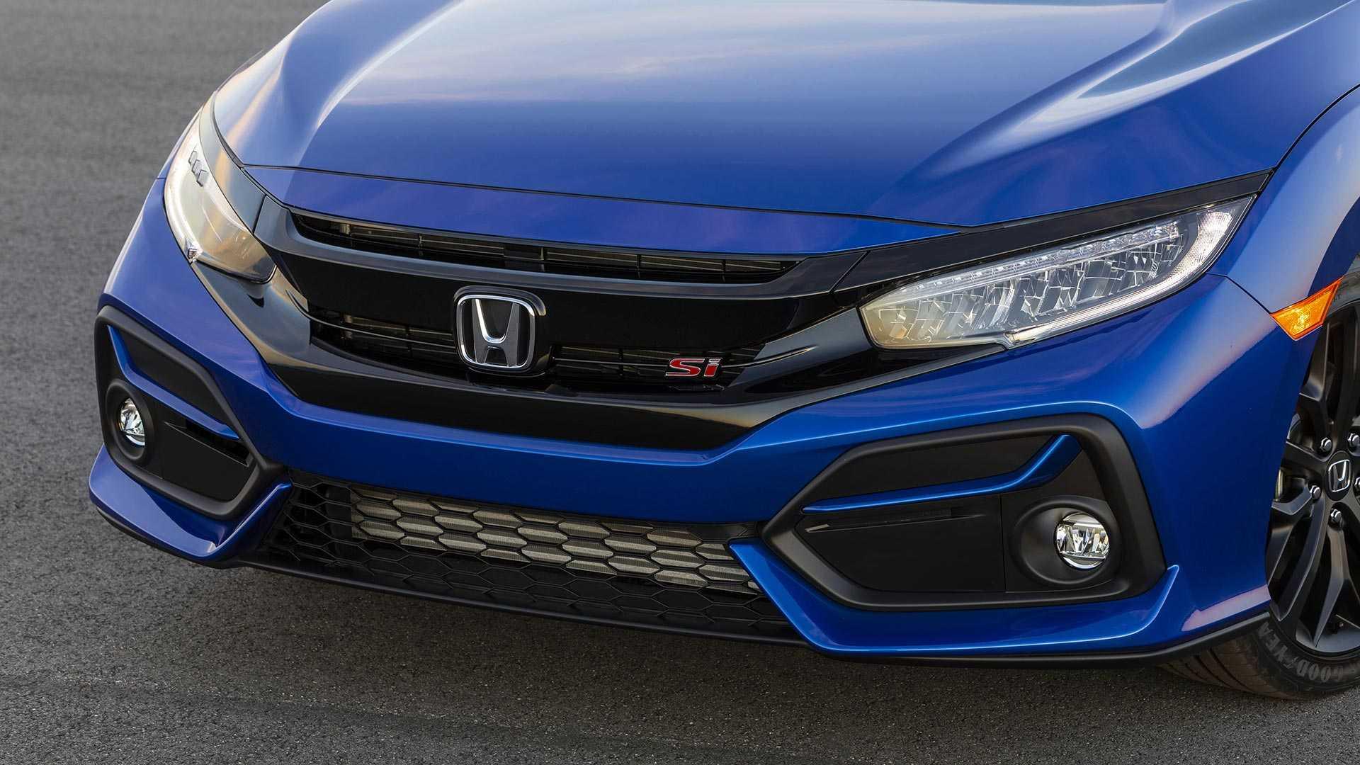 2020 Honda Civic Si Sedan Front Bumper Wallpapers (7)