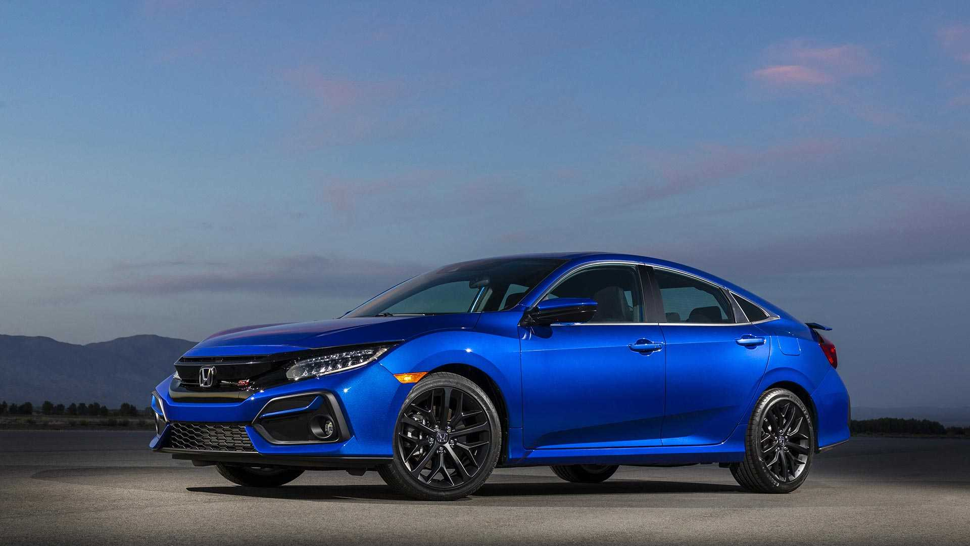 2020 Honda Civic Si Sedan Front Three-Quarter Wallpapers (3)