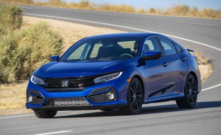 2020 Honda Civic Si Sedan Wallpapers HD