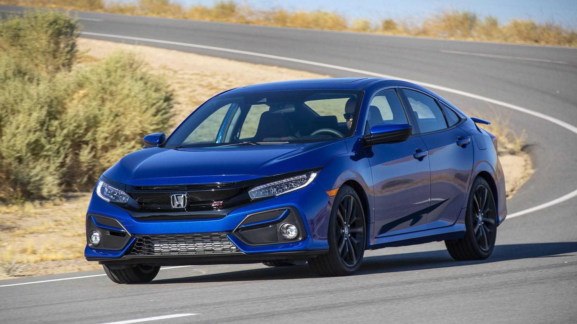 2020 Honda Civic Si Sedan Front Wallpapers (1)
