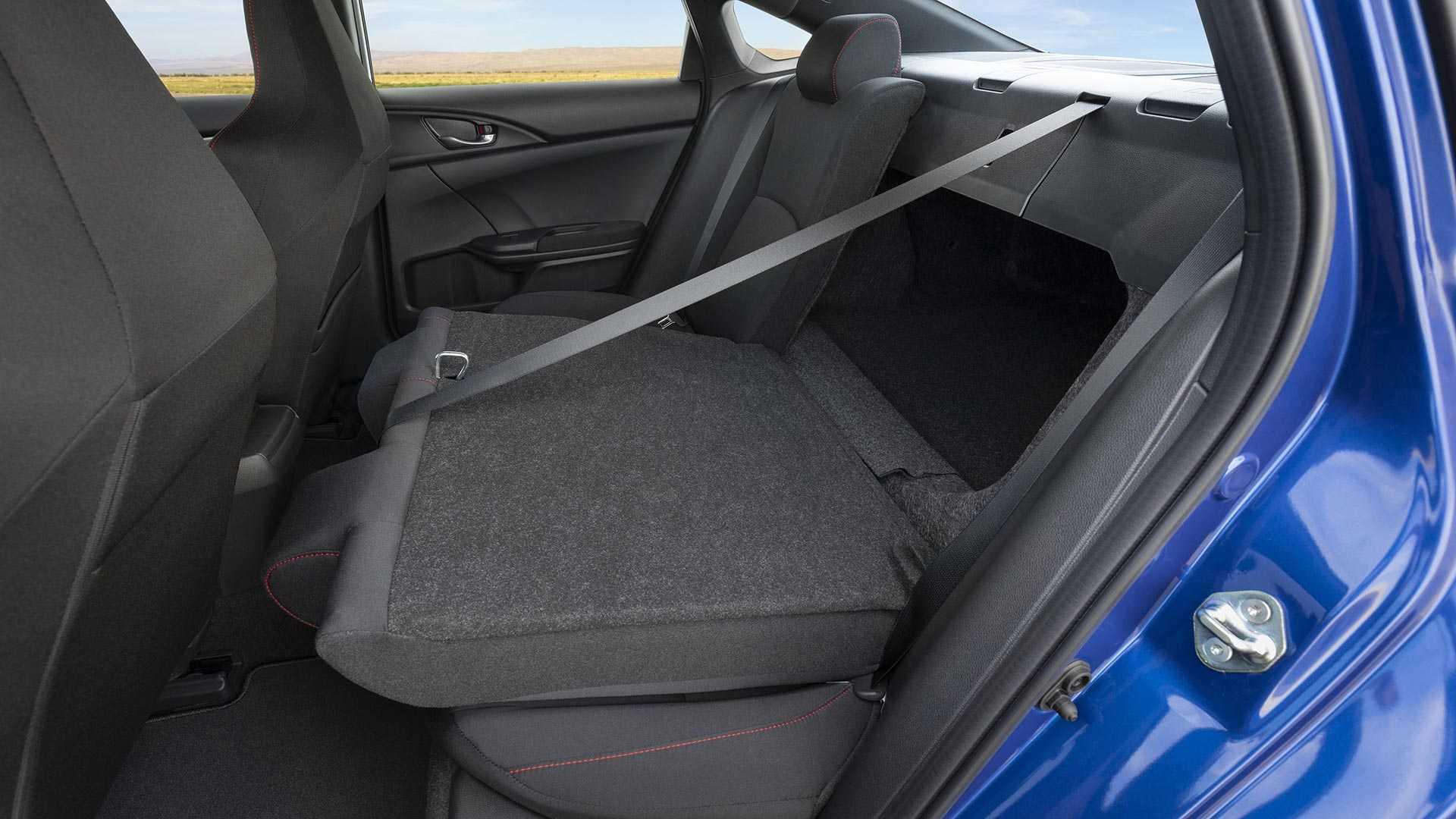 2020 Honda Civic Si Sedan Interior Rear Seats Wallpapers (12)