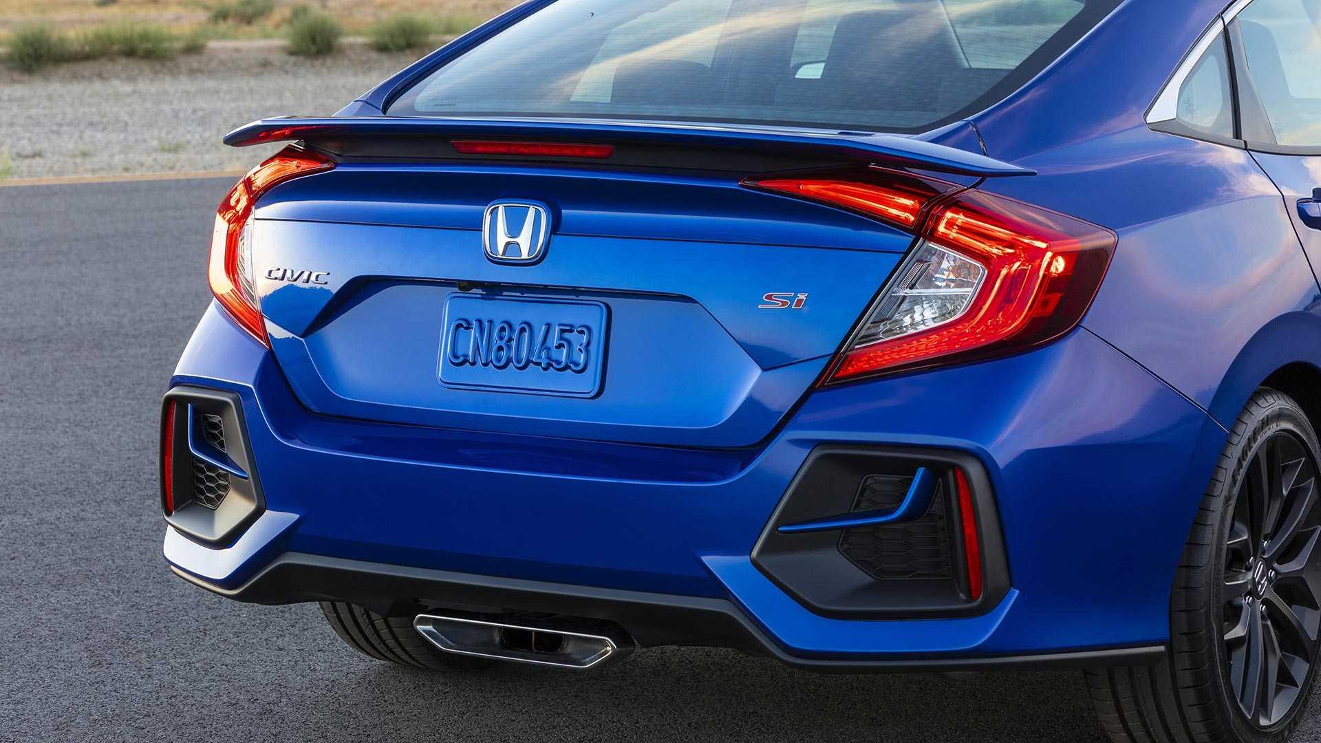 2020 Honda Civic Si Sedan Rear Bumper Wallpapers (8)