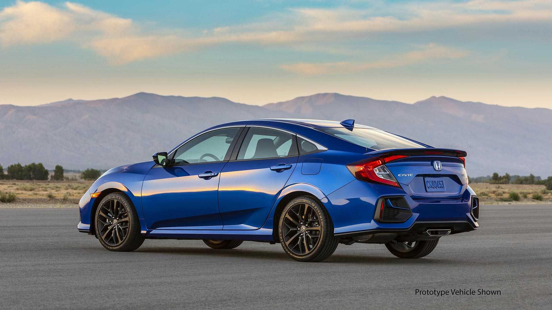 2020 Honda Civic Si Sedan Rear Three-Quarter Wallpapers (5)