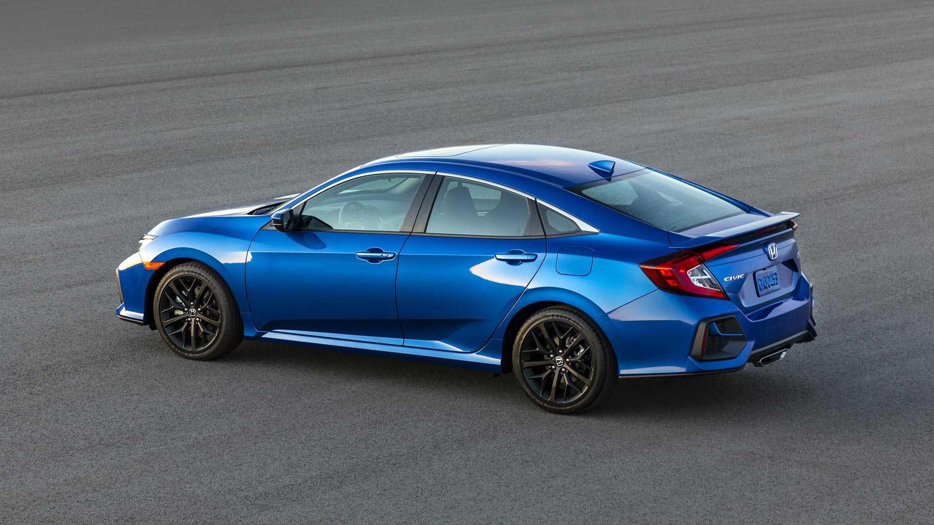 2020 Honda Civic Si Sedan Rear Three-Quarter Wallpapers (2)