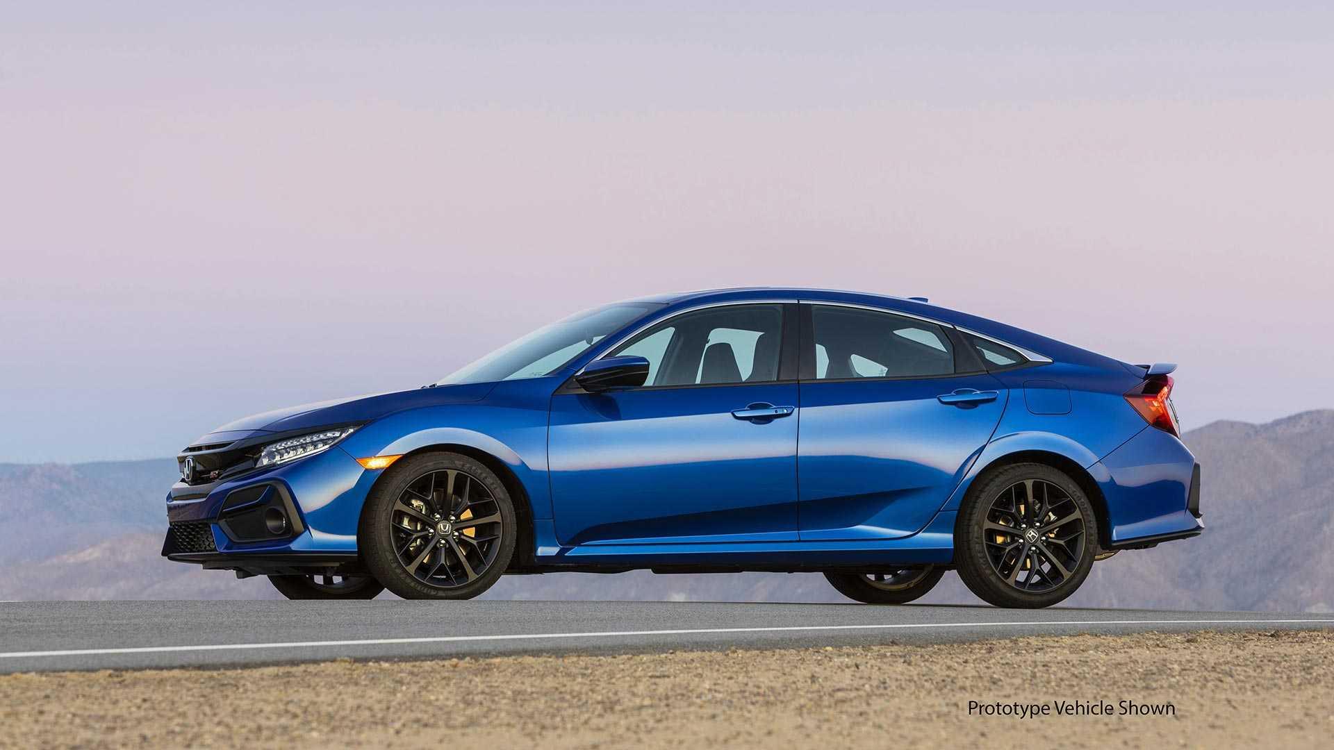2020 Honda Civic Si Sedan Side Wallpapers (6)