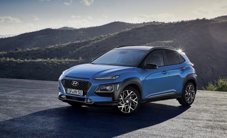 2020 Hyundai Kona Hybrid (Euro-Spec) Front Three-Quarter Wallpapers 450x275 (7)