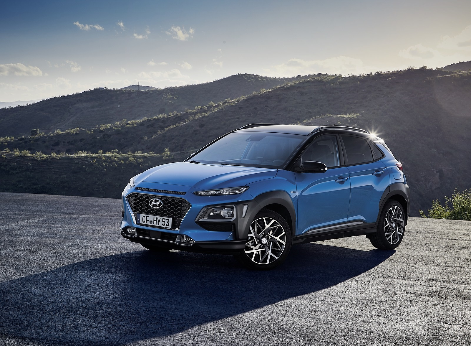 2020 Hyundai Kona Hybrid (Euro-Spec) Front Three-Quarter Wallpapers (7)
