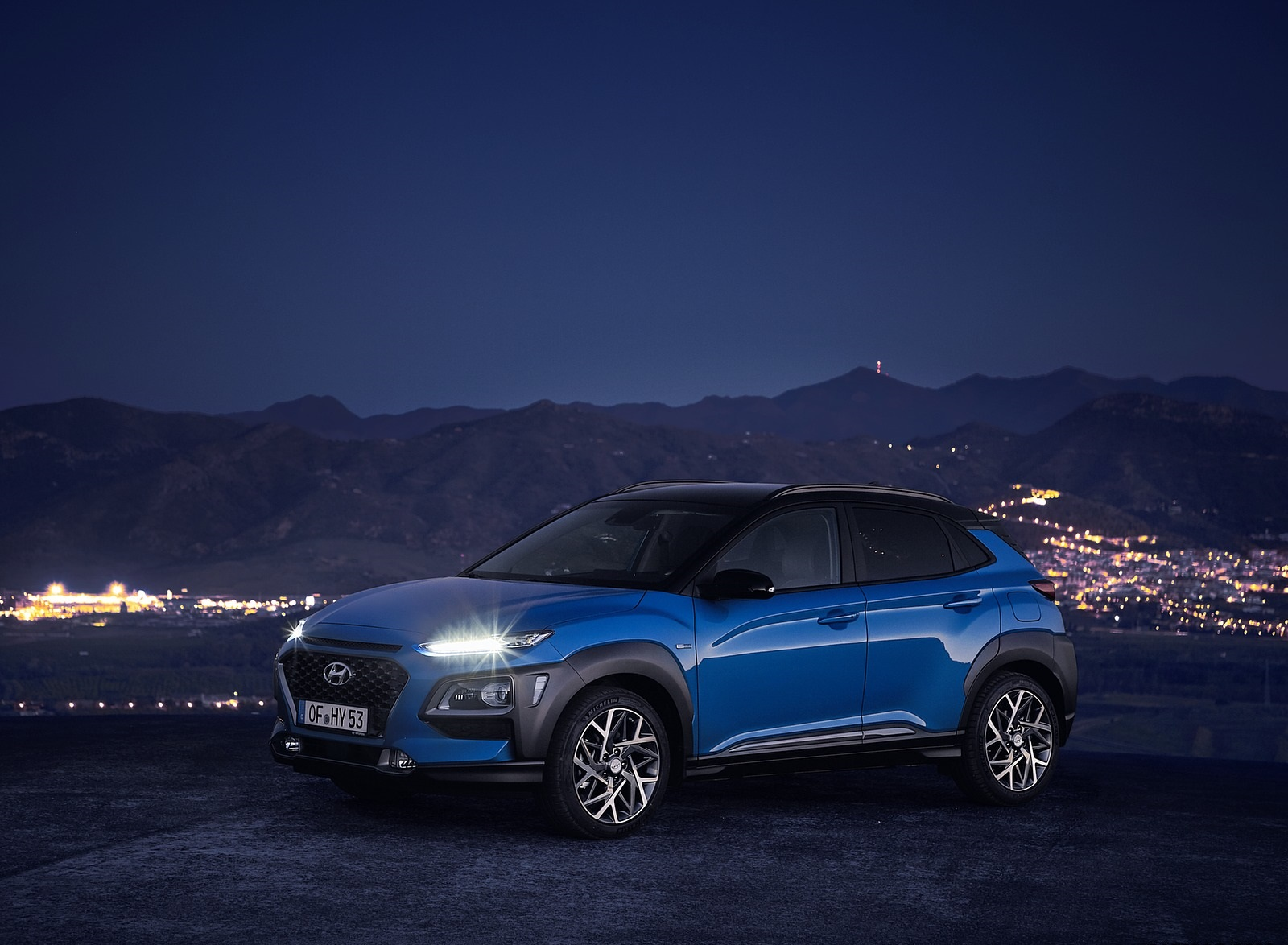 2020 Hyundai Kona Hybrid (Euro-Spec) Front Three-Quarter Wallpapers (9)