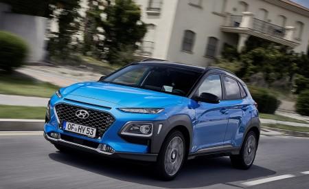 2020 Hyundai Kona Hybrid (Euro-Spec) Front Three-Quarter Wallpapers 450x275 (4)