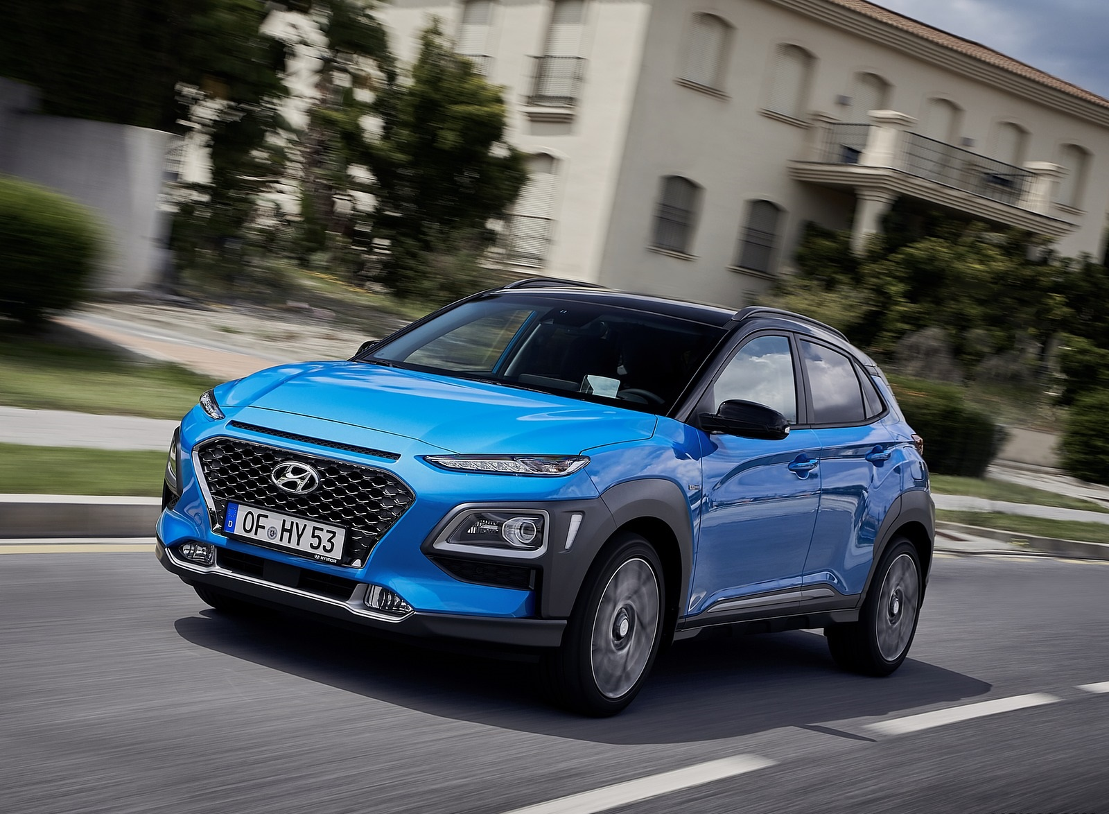 2020 Hyundai Kona Hybrid (Euro-Spec) Front Three-Quarter Wallpapers (4)