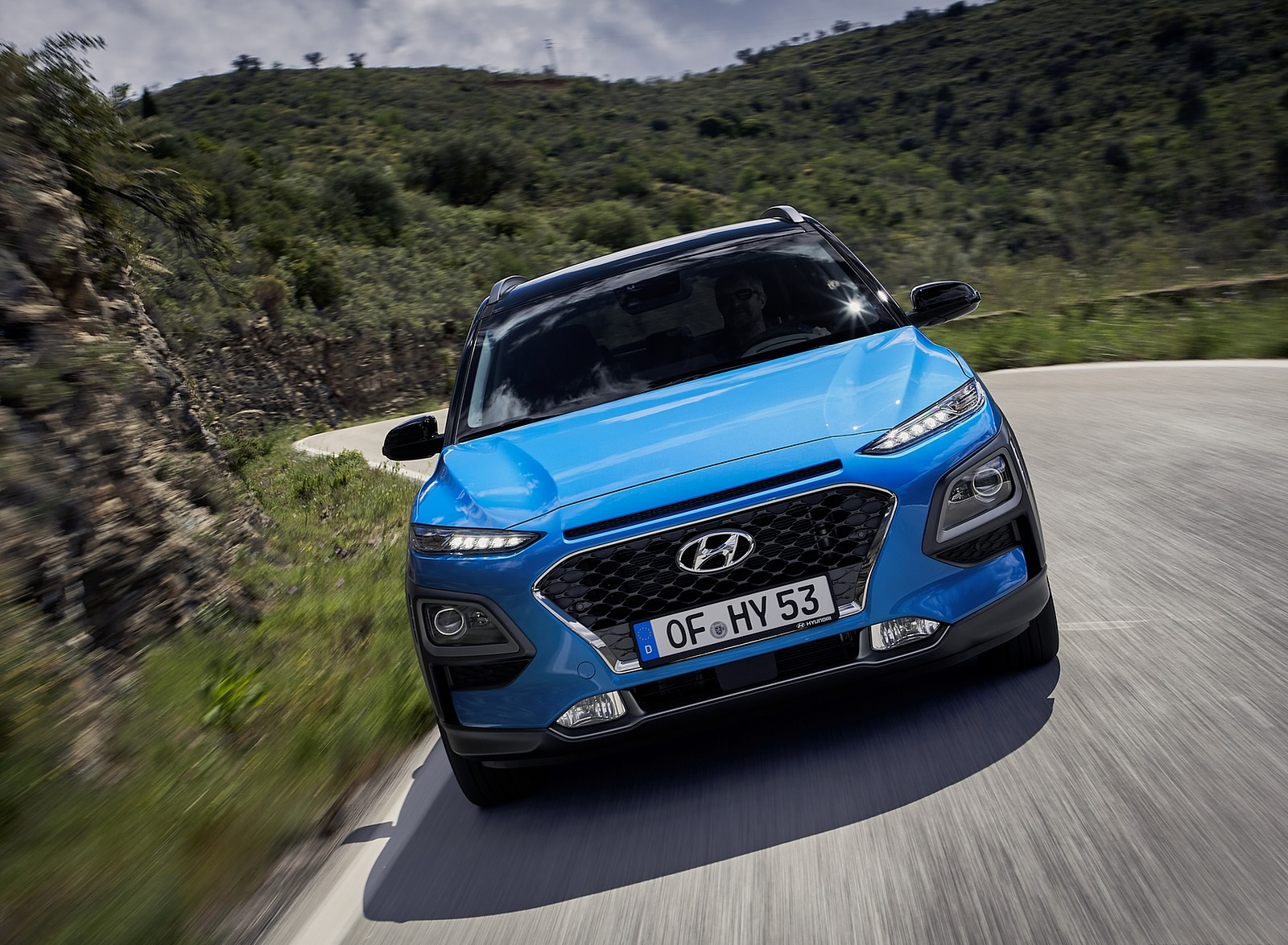 2020 Hyundai Kona Hybrid (Euro-Spec) Front Wallpapers (1)