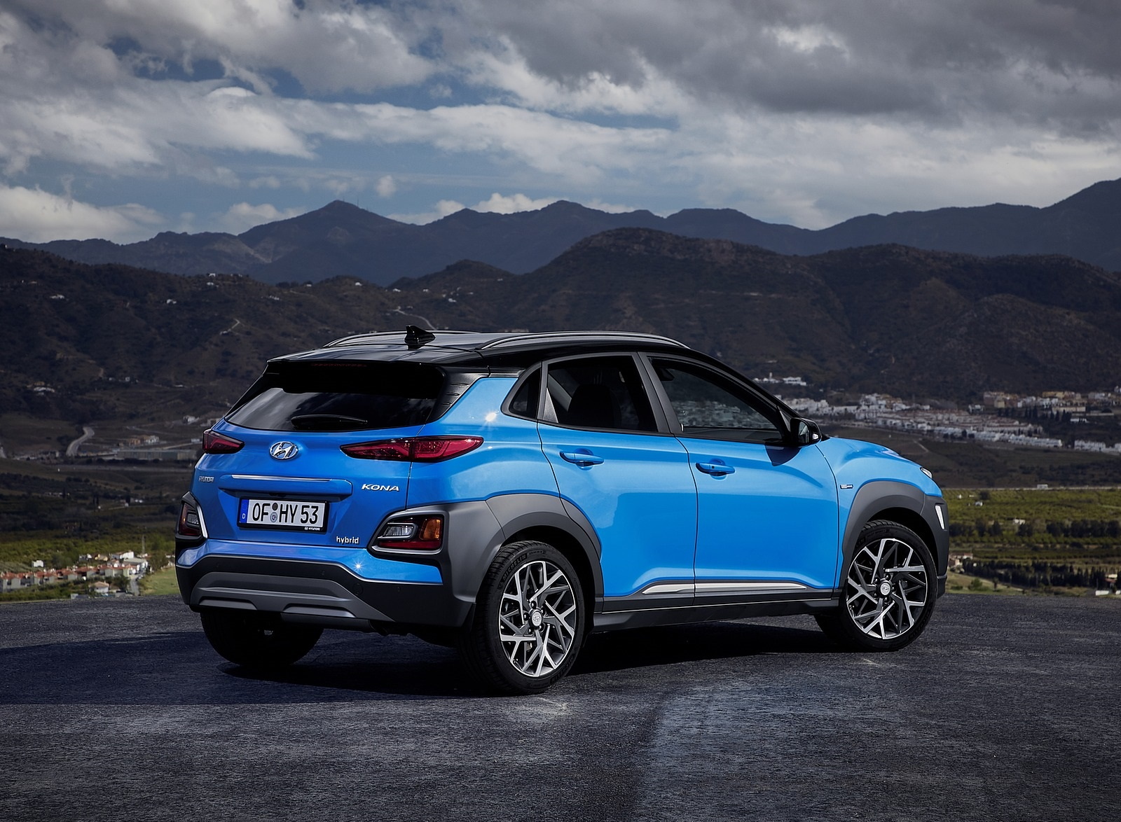 2020 Hyundai Kona Hybrid (Euro-Spec) Rear Three-Quarter Wallpapers (10)
