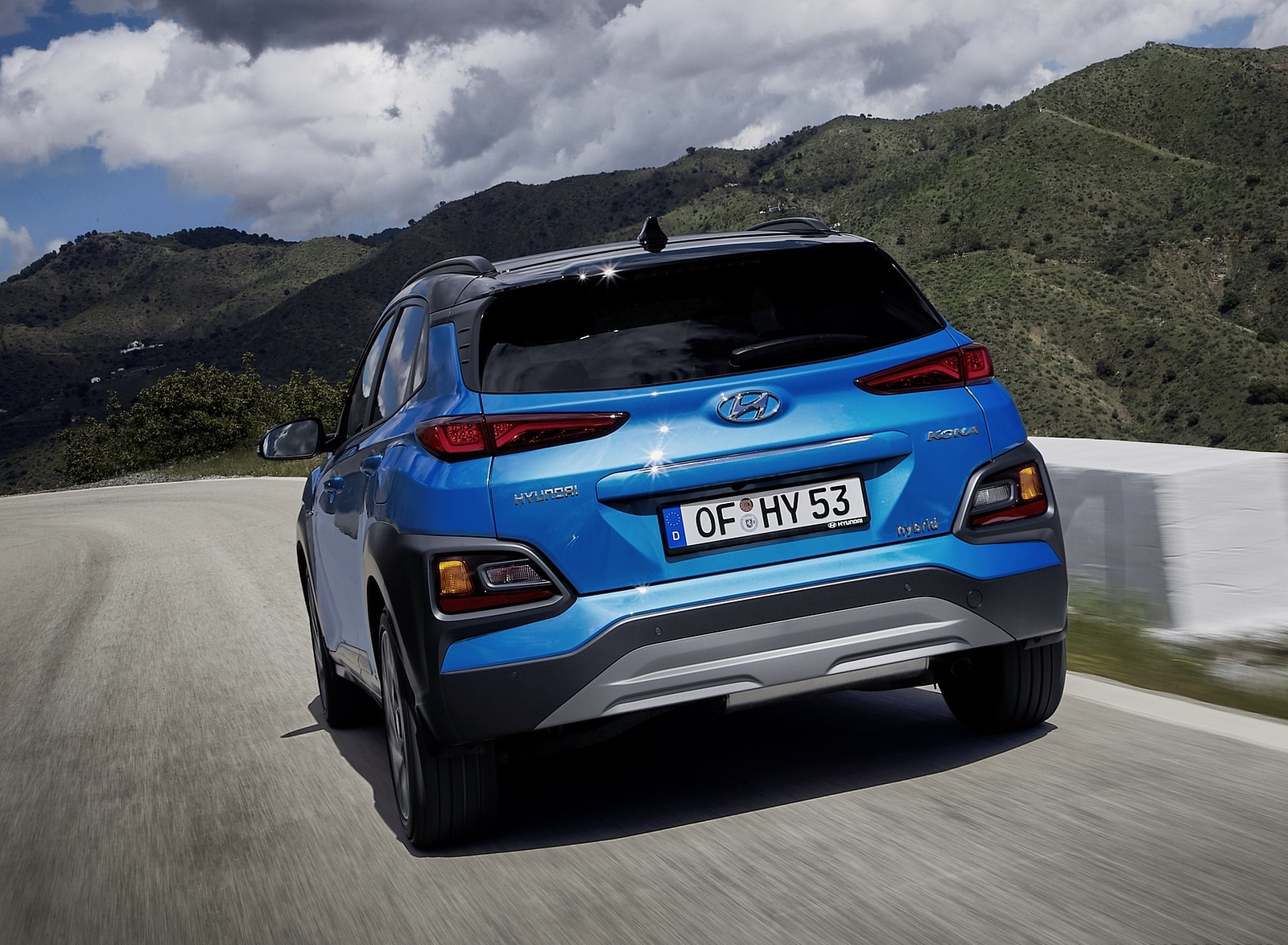 2020 Hyundai Kona Hybrid (Euro-Spec) Rear Wallpapers (5)