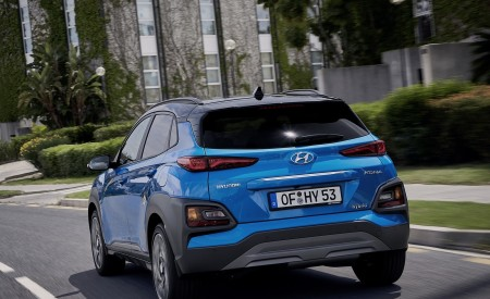 2020 Hyundai Kona Hybrid (Euro-Spec) Rear Wallpapers 450x275 (6)