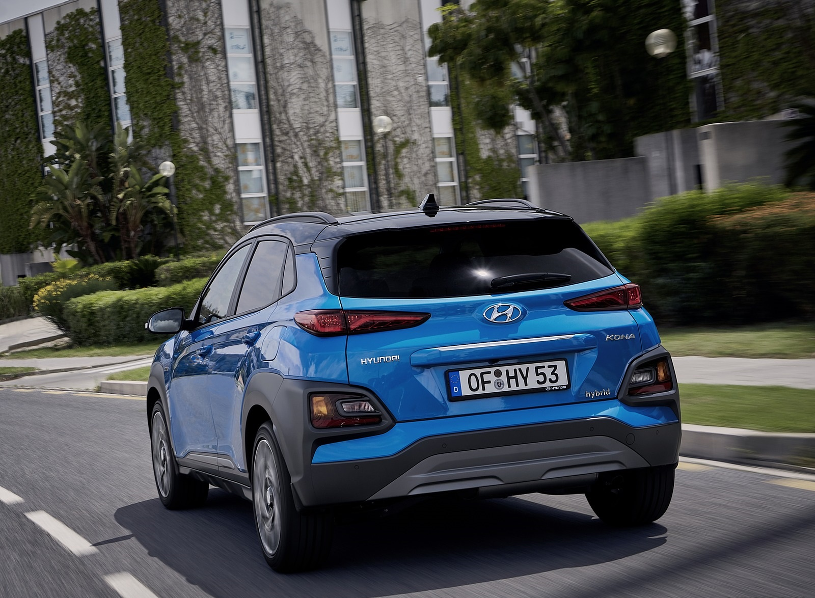 2020 Hyundai Kona Hybrid (Euro-Spec) Rear Wallpapers (6)