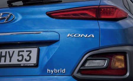 2020 Hyundai Kona Hybrid (Euro-Spec) Tail Light Wallpapers 450x275 (13)