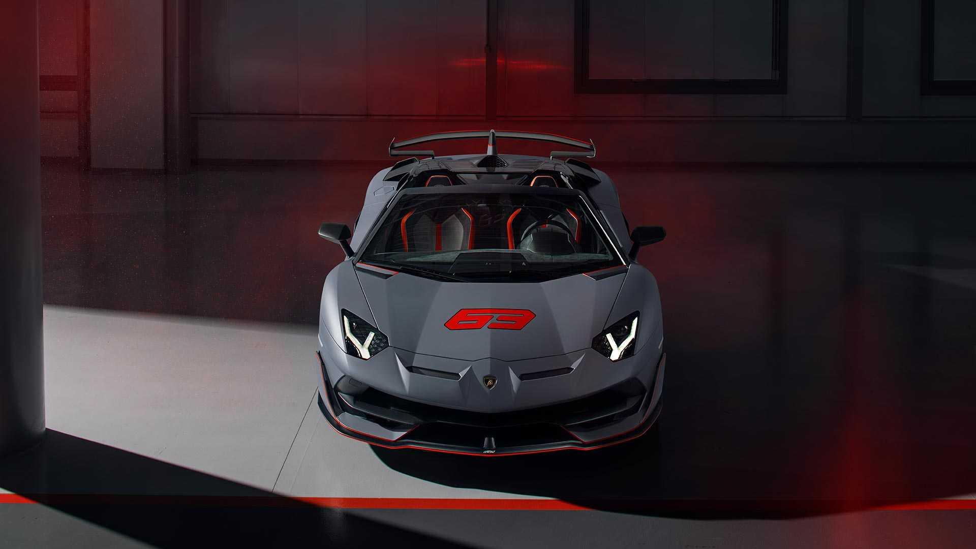 2020 Lamborghini Aventador SVJ 63 Roadster Front Wallpapers (2)
