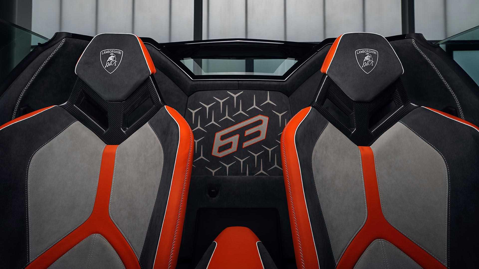 2020 Lamborghini Aventador SVJ 63 Roadster Interior Seats Wallpapers (12)