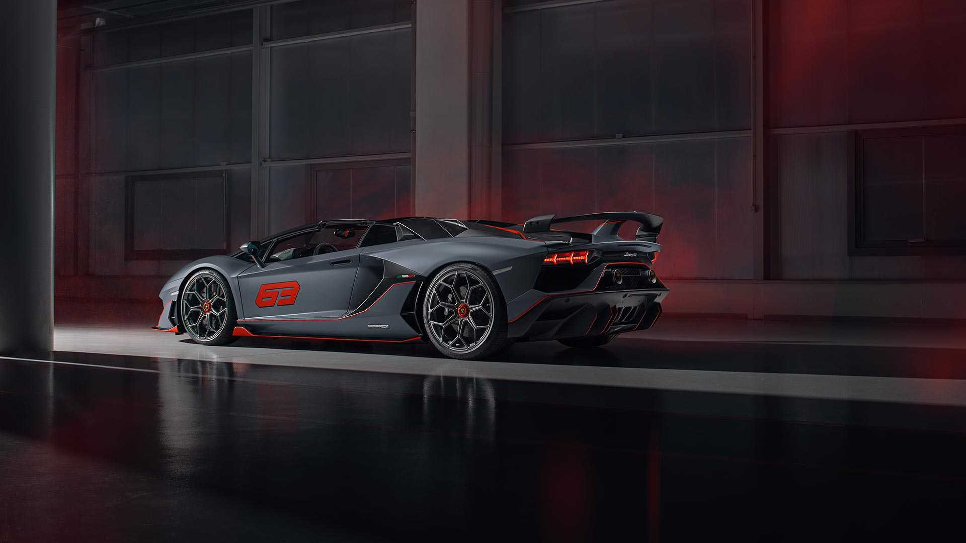 2020 Lamborghini Aventador SVJ 63 Roadster Rear Three-Quarter Wallpapers (5)