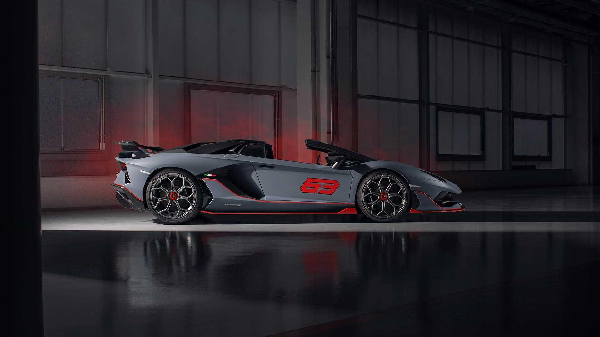 2020 Lamborghini Aventador SVJ 63 Roadster Side Wallpapers (7)