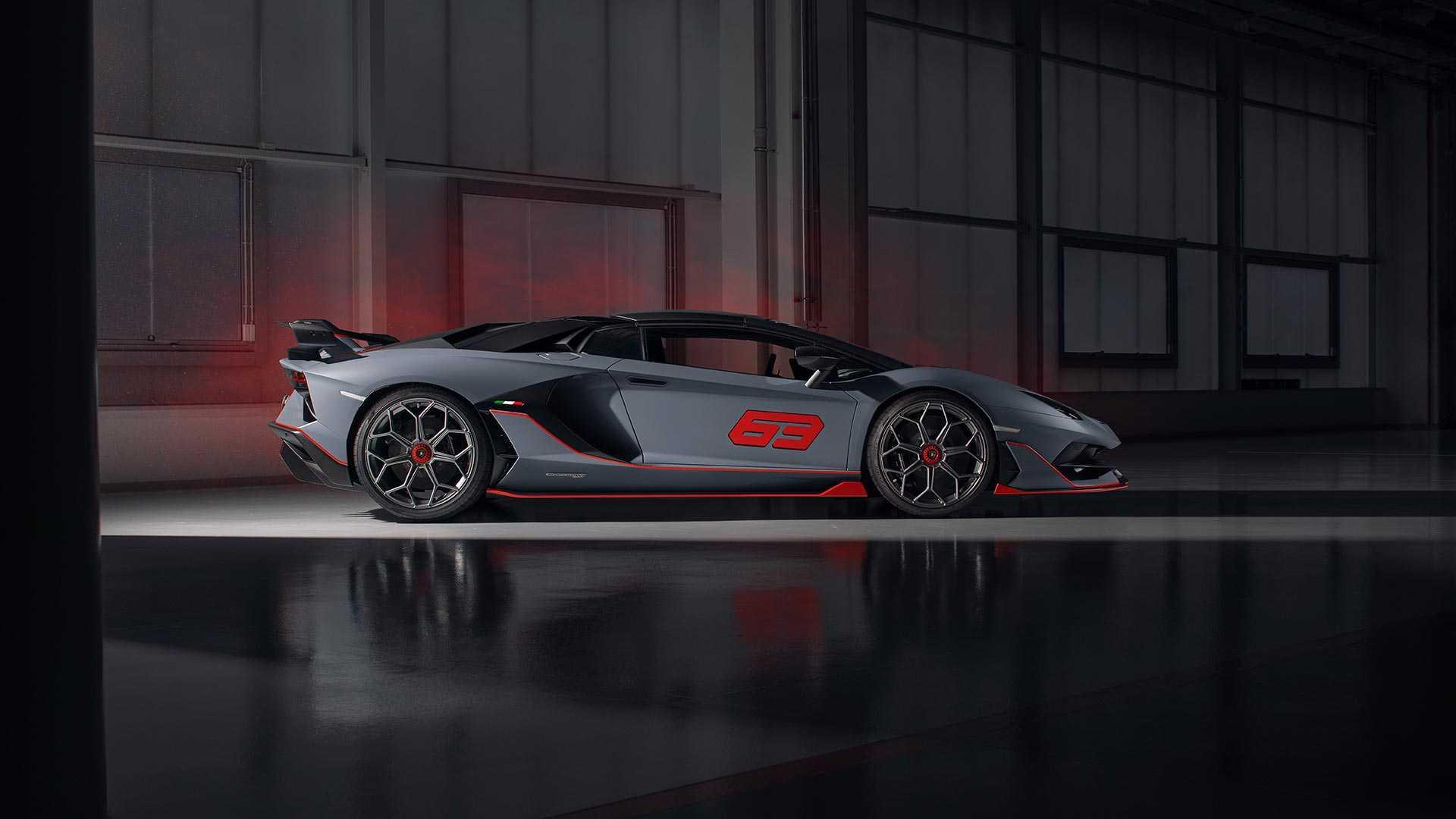 2020 Lamborghini Aventador SVJ 63 Roadster Side Wallpapers (8)